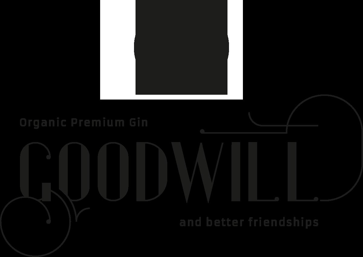 Schriftzug Goodwill Organic Gin - Goodwill Spirits